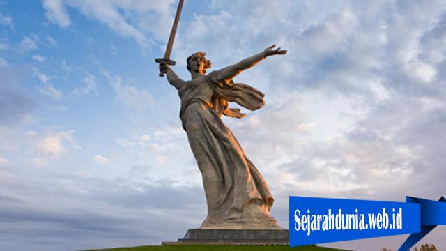 Monumen Keren Rusia Atas Kemenangan Perang Dunia II