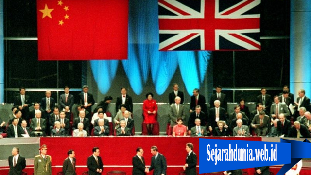 Inggris Menyerahkan Hongkong