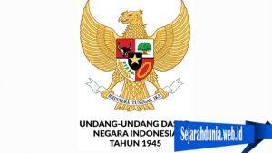 Sejarah Undang-Undang Dasar indonesia