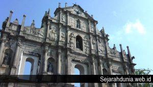Sejarah Singkat Reruntuhan Santo Paulus
