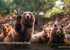Sejarah Kebun Binatang Dunia