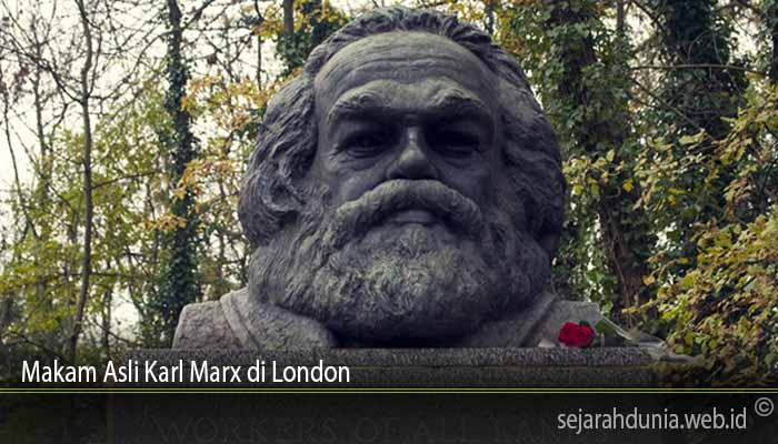 Makam Asli Karl Marx di London